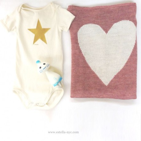 star-onesie-heart-blanket estella