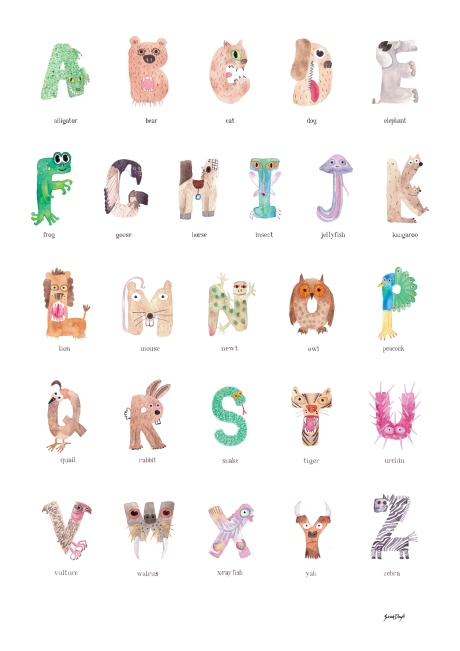 sarah doyle alphabet