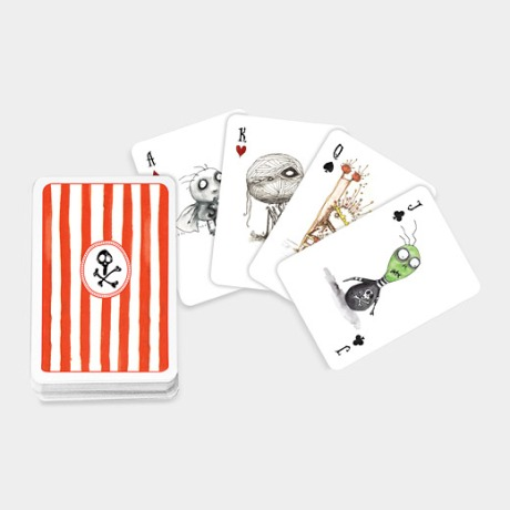 tim nurton playing cards